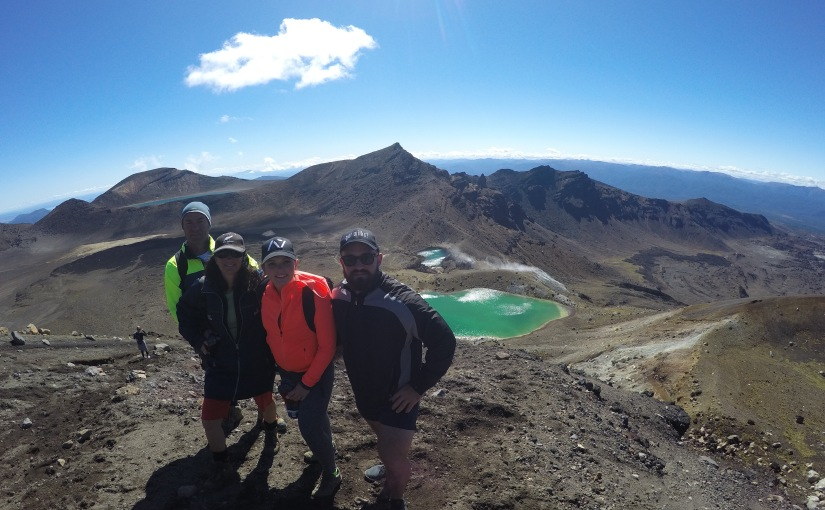 NZ's best one-day walk: Tongariro Alpine Crossing