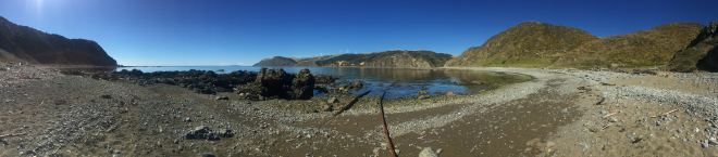 pano from beach